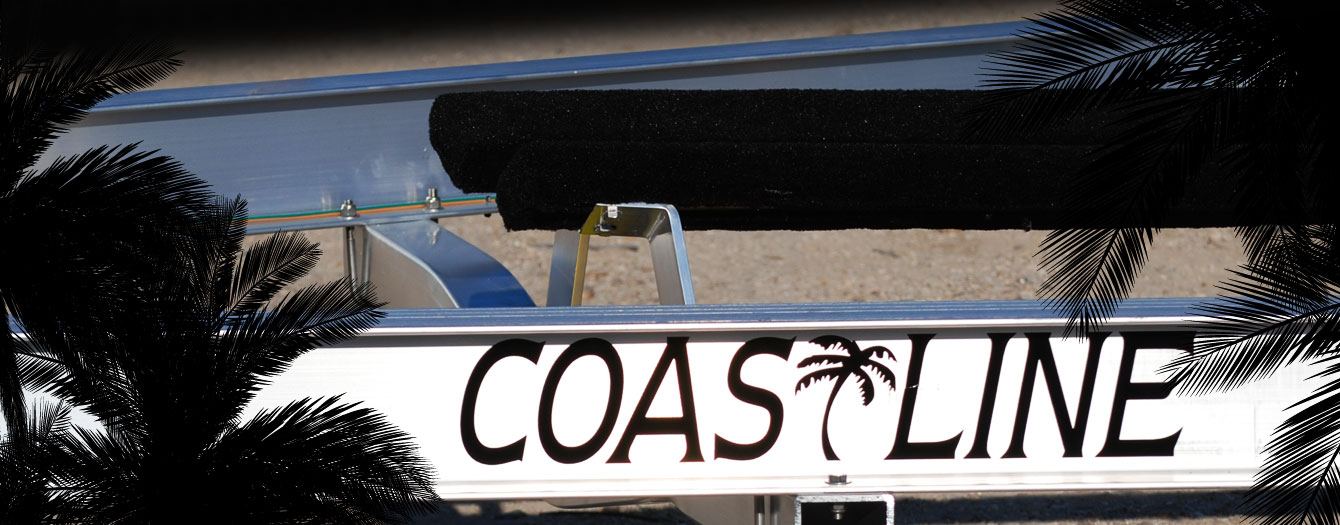The most saltwater resistant aluminum boat trailer on the market.
